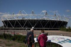 2012 olympische Vorbetrachtungen Lizenzfreie Stockfotografie