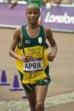 2012 olympiska maraton Royaltyfria Bilder