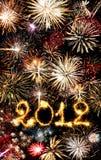 2012 ont effectué des étincelles Photos libres de droits