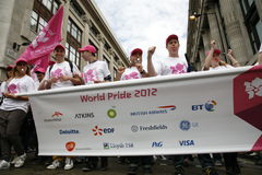2012, orgulho de Londres, Worldpride Imagem de Stock