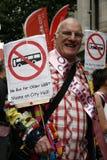 2012, orgullo de Londres, Worldpride Fotografía de archivo