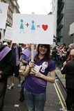 2012, orgullo de Londres, Worldpride Imagen de archivo libre de regalías