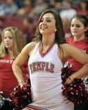 2012 pallacanestro del NCAA - ragazza pon pon Immagine Stock Libera da Diritti