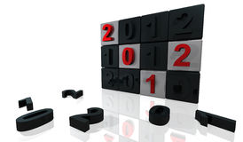 2012 panel Royalty Free Stock Images