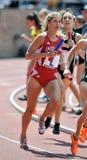 2012 Penn Relais - weibliche Abstandsseitentriebe Stockfoto