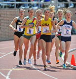 2012 Penn Relays - female distance runners Royalty Free Stock Images