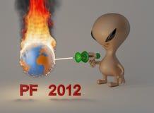 2012 pf 库存照片