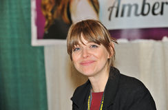 2012 Philadelphia Comic Con - Amber Benson Stock Photography