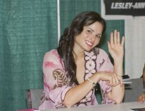 2012 Philadelphia Comic Con - Katrina Law Stock Photo