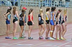 2012 pista - corredores de relais de 800 contadores Fotografía de archivo libre de regalías