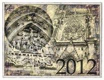2012 predice Fotografia Stock Libera da Diritti