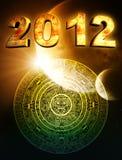 2012. Profezia del Maya illustrazione vettoriale