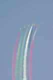 2012 przedstawienie lotniczy międzynarodowy Bahrain Zdjęcia Royalty Free