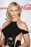 2012 przyjeżdża nagrody charlize cinemacon talentu theron obraz stock