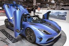 2012 r 2013 agera Geneva koenigsegg silnika przedstawienie Zdjęcia Stock