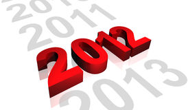 2012 red Stock Image