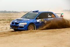 2012 reunión de Kuwait - Mitsubishi Lancer Evo VIII Fotos de archivo libres de regalías