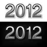 2012 rok Zdjęcie Stock