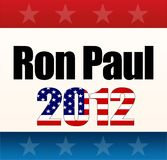 2012 Ron Paul. 2012 for Ron Paul concept illustration background Stock Photography