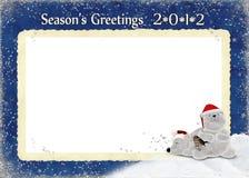 2012 Season's Greetings Stock Photography