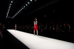 2012 shanghai fashion week Royalty Free Stock Image