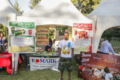 2012 Smaak van Addis voedselfestival Stock Foto