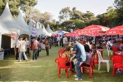 2012 Smaak van Addis voedselfestival Stock Afbeelding