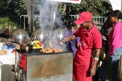 2012 Smaak van Addis voedselfestival Stock Afbeeldingen