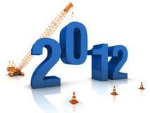2012 som förbereder sig vektor illustrationer