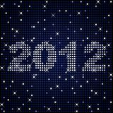 2012 in sparkles Royalty Free Stock Image