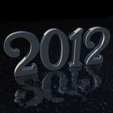 2012 Spiegel-Fußboden Lizenzfreie Abbildung