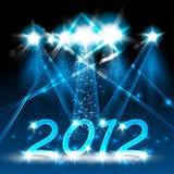 2012 szczęśliwych nowy rok Zdjęcia Stock
