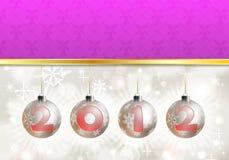 2012 tło nowy rok Zdjęcia Stock