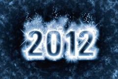 2012 tło nowy rok Obraz Stock