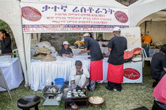 2012 Taste of Addis food festival Royalty Free Stock Photo