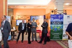 2012 Tentoonstelling ICT4ALL in Tunesië Royalty-vrije Stock Afbeeldingen