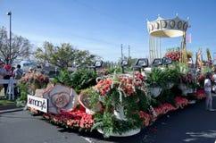 2012 toernooien van Rozen parade-Macy Stock Foto's