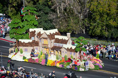 2012 Tournament of Roses Parade-HGTV Royalty Free Stock Photo