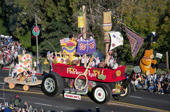 2012 Tournament of Roses Parade-Trader Joes Royalty Free Stock Photography