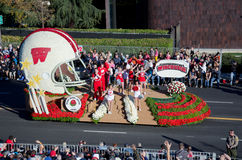 2012 Tournament of Roses Parade-Wisconsin Royalty Free Stock Photo
