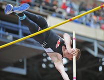 2012 Track - boys pole vault Stock Images