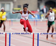 2012 Track and Field - Hurdles Royalty Free Stock Photos