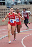 2012 Track and Field - Ladies 4x100 relay Royalty Free Stock Photography