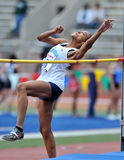2012 Track and Field - Ladies High Jump Stock Images