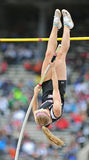 2012 Track and Field - Ladies Pole Vault Stock Photography