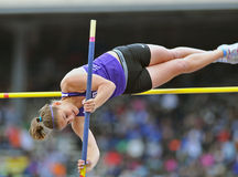 2012 Track and Field - Ladies Pole Vault Stock Image