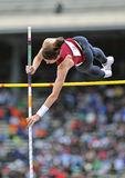 2012 Track and Field - Ladies Pole Vault Royalty Free Stock Image