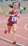 2012 Track and Field - St Joe's runner Stock Image