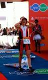 2012 triathlete ironman zwycięzca Zdjęcia Royalty Free