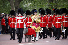 2012, Trooping the color Royalty Free Stock Images